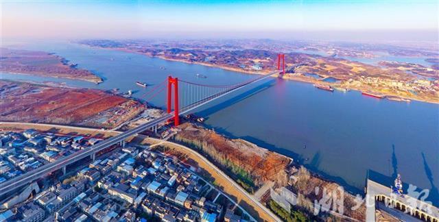 五年建成十一座长江大桥,湖北建桥数量居全国第一。 第6张