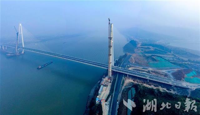 五年建成十一座长江大桥,湖北建桥数量居全国第一。 第4张