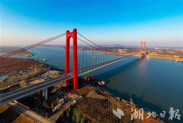 五年建成十一座长江大桥,湖北建桥数量居全国第一。 第7张