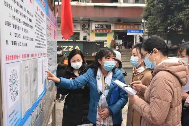 武昌首义路街道开展NPC代表和CPPCC成员联合活动,为基层疫情防控提供建议和意见。 第1张