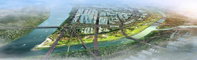 富乐河防洪段将建成风景区、步行绿道、自行车道和儿童游乐场。 第3张