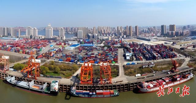 """锚定""""九州通衢"""",支持武汉建设国家贸易物流中心。 第1张"""