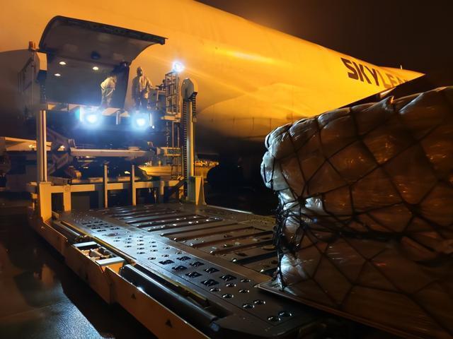 湖北至美国货运航班恢复。 第2张