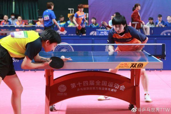 全运会乒乓球预赛结束,武汉三人进入比赛。 第1张