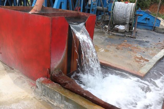 水温50℃,日出水2000吨,蔡甸发现优质天然温泉。 第1张
