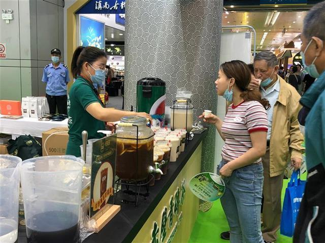 第23届武汉茶博会举行,全国800多家企业参展。 第3张