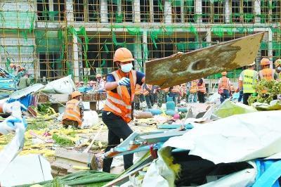五家建筑企业援助灾后重建武汉经济开发区重点工程,3天内复产。 第1张